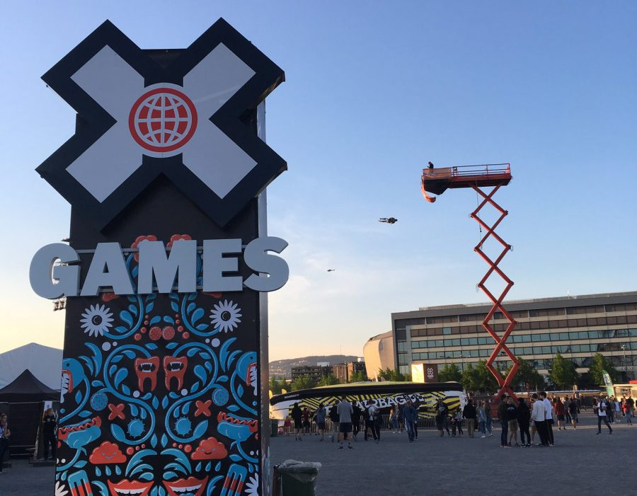 Street Diving at the X Games in Oslo
